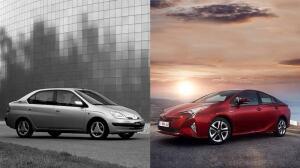 Así ha evolucionado el Toyota Prius