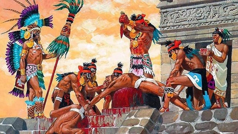 Las crueles prácticas caníbales de los aztecas que aterraban a Hernán Cortés