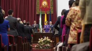 La Reina Sofía rinde honor al profesor Carrillo Salcedo