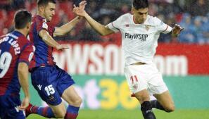 Todas las imágenes del Sevilla-Levante