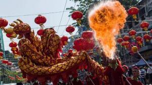 Las mejores imágenes de la celebración del Año Lunar de Asia