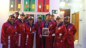 FOTOS: Coplas 'ilegales' en la sede gaditana de la Fundación Cajasol