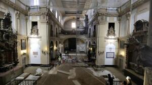 Descubren cinco criptas en la Iglesia de los Terceros