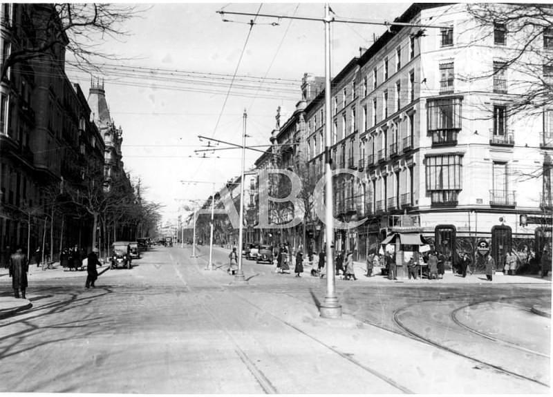 La calle de Serrano en ABCfoto