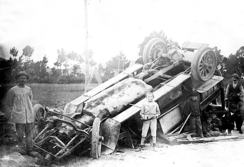 Accidentes de tr�fico a principios del S XX