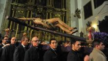 El Via Crucis del Cristo de las Cinco Llagas, en imágenes
