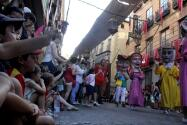 El desfile de la Tarasca por las calles