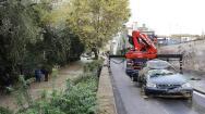 El fuerte temporal que ha azotado la provincia de Barcelona