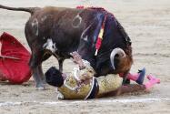 La accidentada novillada en Las Ventas, en imágenes