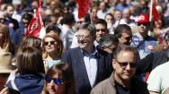 En imágenes: las manifestaciones por el Primero de Mayo, Día Internacional del Trabajador