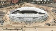Así se ve el Wanda Metropolitano, desde el aire