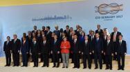 Las imágenes de la cumbre del G-20 celebrada en Hamburgo