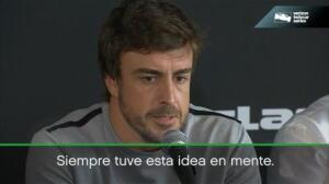 """Fernando Alonso: """"Las 500 millas de Indianápolis son el mayor reto que tengo"""""""