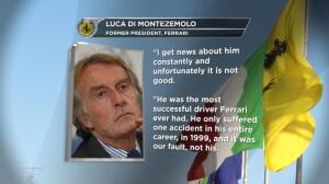 """F1 - Montezemolo: """"Tengo noticias de Schumacher y no son buenas"""""""