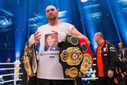 El combate Fury-Klitschko, en imágenes