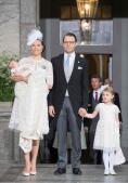 En imágenes: el bautizo del Príncipe Óscar en Suecia