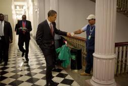 Recopilación de las mejores fotos de Obama al frente de la Casa Blanca