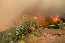 El fuego arrasa la isla de Madeira