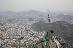 En imágenes: La Meca se prepara para la gran peregrinación