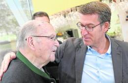 Así fue la jornada de reflexión de los candidatos gallegos