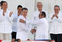 Juan Manuel Santos, Premio Nobel de la Paz 2016, en imágenes