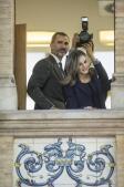 En imágenes: los Reyes visitan el Mercado Central de Valencia con motivo de su centenario