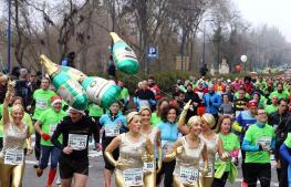 Masivas carreras de «San Silvestre» en Valladolid y Madrid