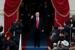 Las mejores imágenes de la toma de posesión de Donald Trump