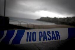 En imágenes: el primer temporal de este invierno azota Galicia