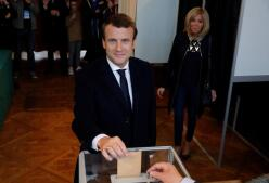 Las imágenes de la jornada electoral francesa