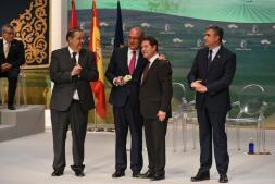 En imágenes: premios y distinciones en el Día de Castilla-La Mancha