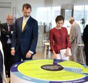 En imágenes: los Reyes inauguran el Centro Botín