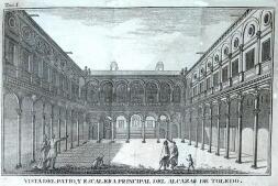 Las dos chimenas del Alcázar, en imágenes