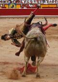 Espeluznantes imágenes de la cogida de Roca Rey en Pamplona