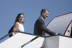 La visita de Don Felipe y Doña Letizia a Reino Unido, en imágenes