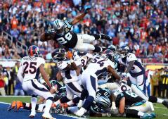 Las imágenes más espectaculares de la 50ª Super Bowl