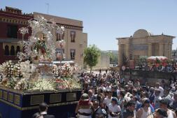 La procesión de la Virgen de la Cabeza, en imágenes