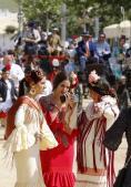 En imágenes, un jueves de Feria de sonrisas brillantes