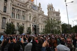 En imágenes: el Real Madrid celebra la Champions por las calles