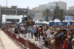 Fotos: Los veleros de la Gran Regata de Cádiz