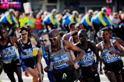 Las mejores imágenes del maratón de Nueva York