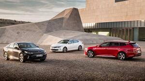 La gama del Kia Optima ha añadido nuevas versiones
