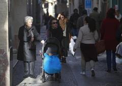 En imágenes: Así vive Sevilla la ola de frío