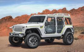Los siete prototipos que Jeep permitirá utilizar en su rally