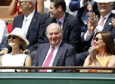 Los famosos que no han querido perderse la final de Roland Garros, en imágenes