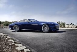 Fotogalería: así es el impresionante Mercedes-Maybach Vision 6 Cabrio