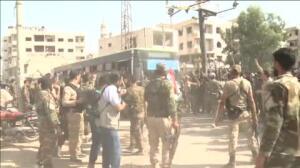Daraya se rinde al régimen de Asad