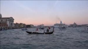Habitantes de Venecia en pie de guerra contra los cruceros