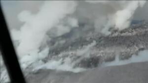 Nueva erupción del volcán Colima en México