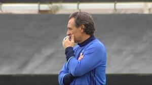 Prandelli prepara a sus futbolistas para recibir al Barça